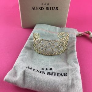 Alexis Bittar Crystal Lace Cuff - NEW